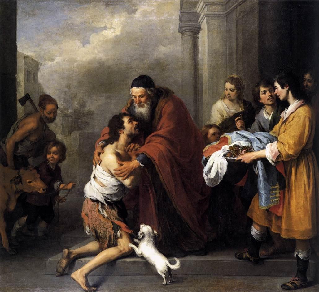 God's love the prodigal son