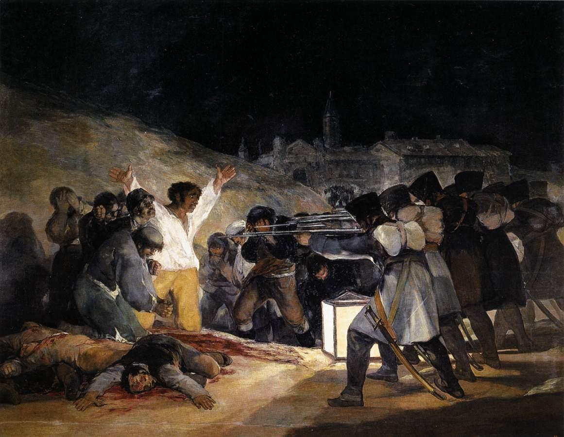 gun murder Orlando execution firing squad
